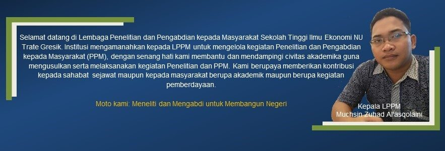 Head Of LPPM Welcome
